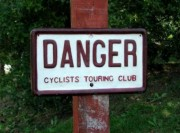 Historic CTC Danger Sign